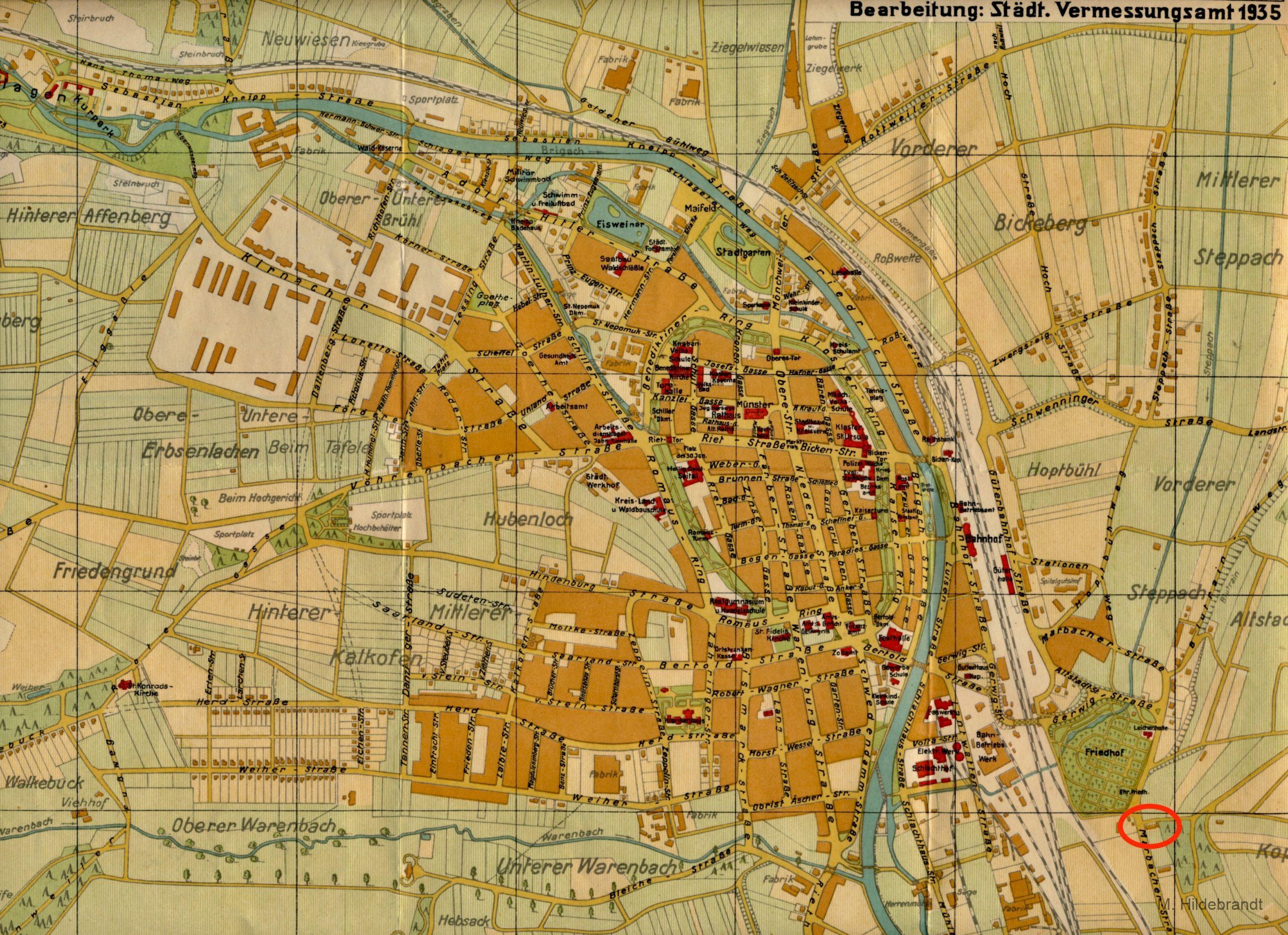 Villingen Hohenstein War Wirtschaft An Der Marbacher Strasse Nahe Friedhof Hildebrandtvs De
